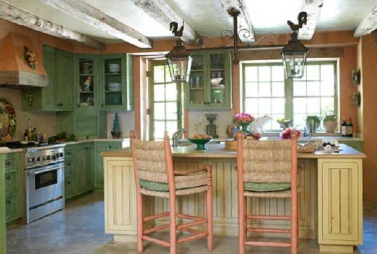 muebles decoracion country