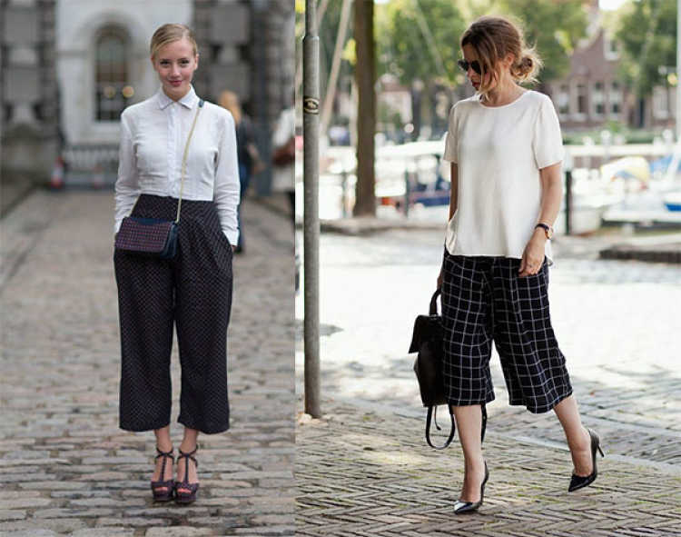 outfits culotte