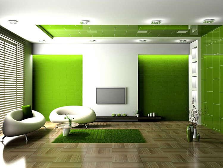 sala de estar lujosa