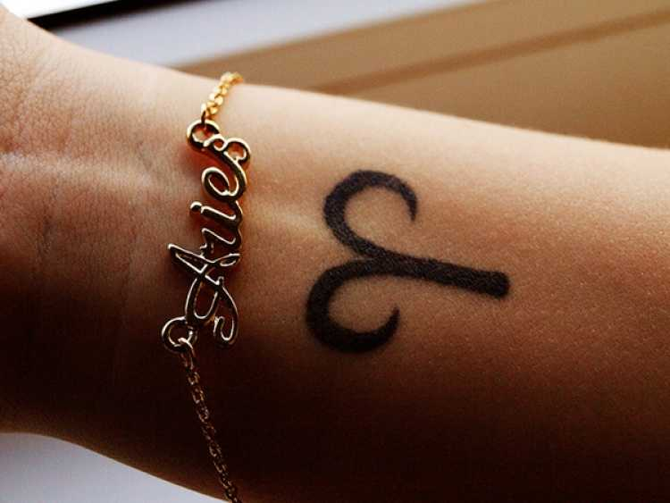 tatuaje signo aries