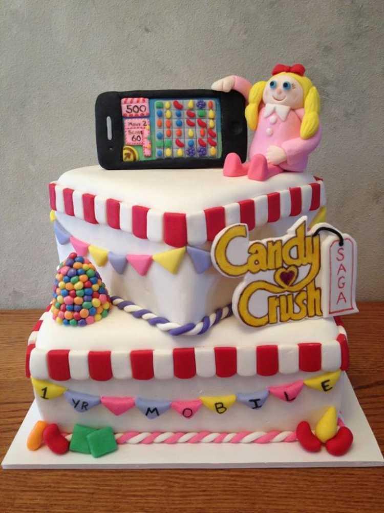 torta de candy crush