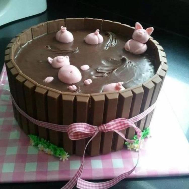 torta de cerditos