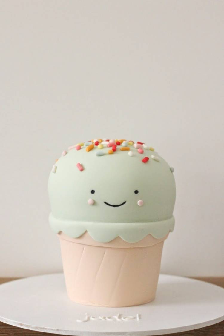 torta de helado