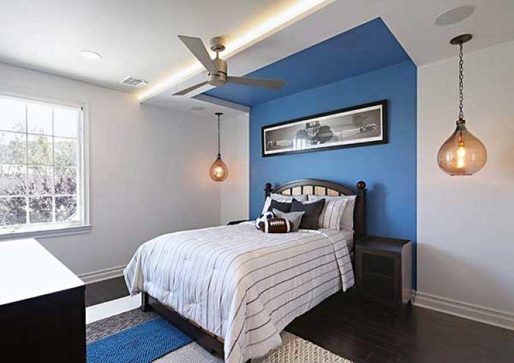 almohadones azules