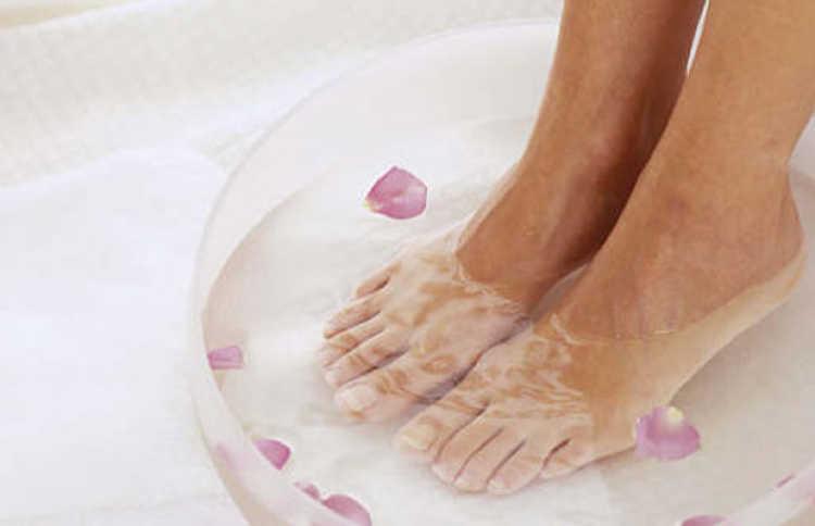 baños de pies