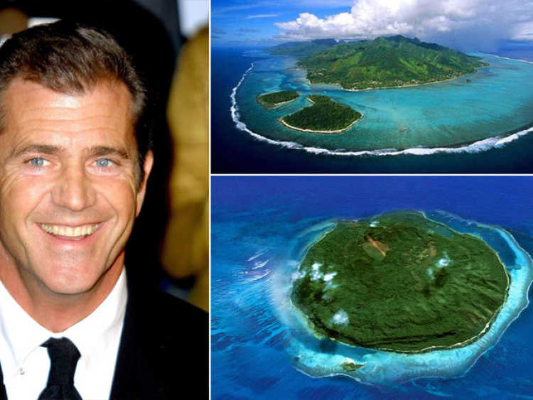 isla privada mel gibson