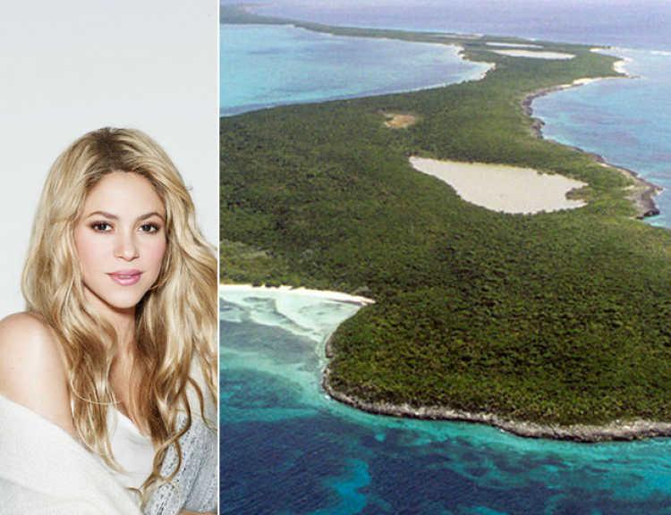 isla privada shakira