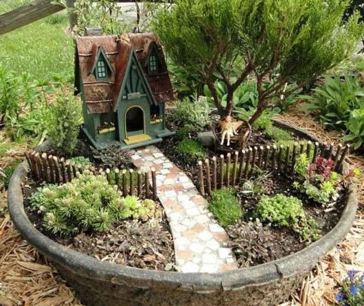 jardin miniatura departamento