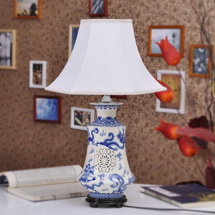 lampara de dormitorio azul