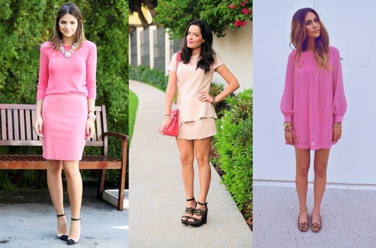 look monocromatico rosa