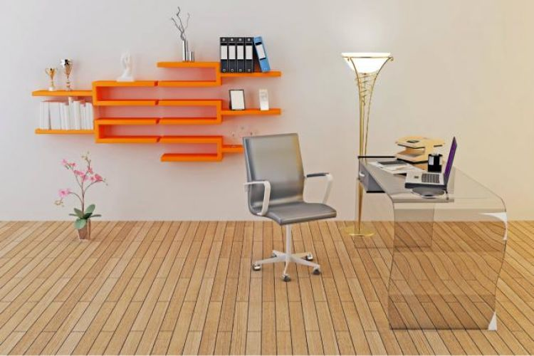 mueble reciclado geometrico