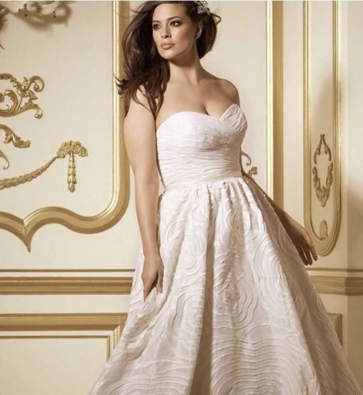 vestido de novia corset cruzado