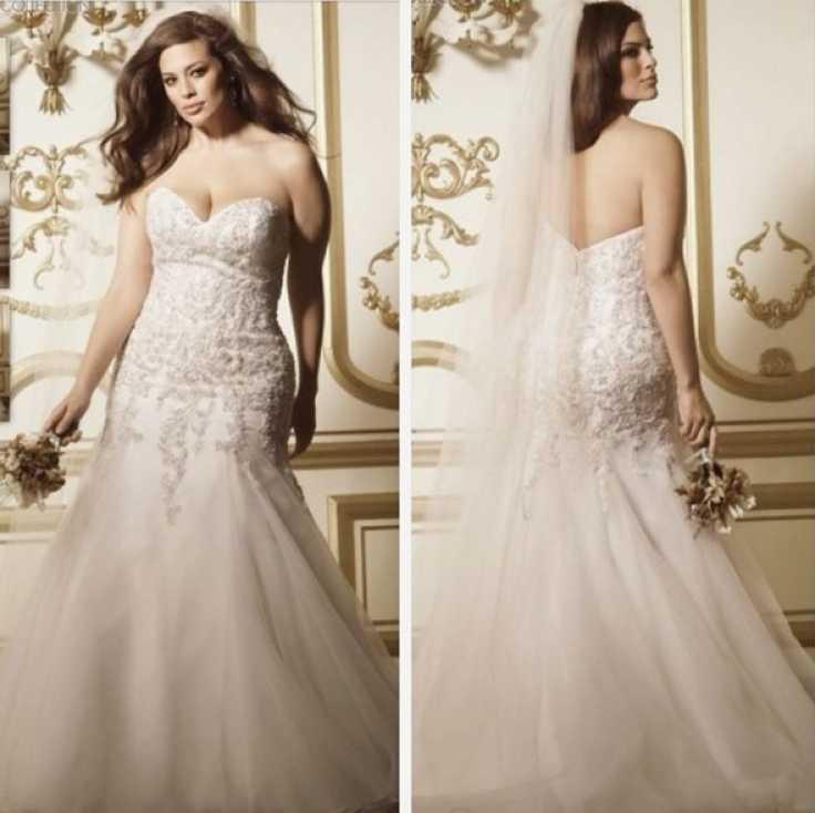 vestido de novia escote corazon