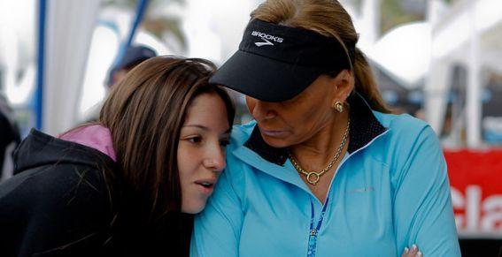 Raquel Calderon y Raquel Argandoña
