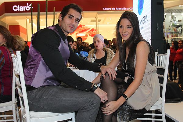 Pablo Schilling y Kel Calderon