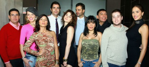 Participantes famosos Amazonas 490x222 Fotos: Participantes del reality Amazonas de CHV