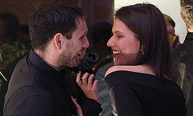 Catherine Mazoyer y Sebastian Carter