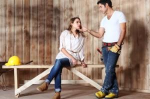 Dama y Obrero