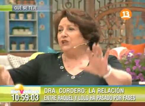 doctora cordero matinal 490x360 La Doctora Cordero habla de los hijos de Pamela Díaz