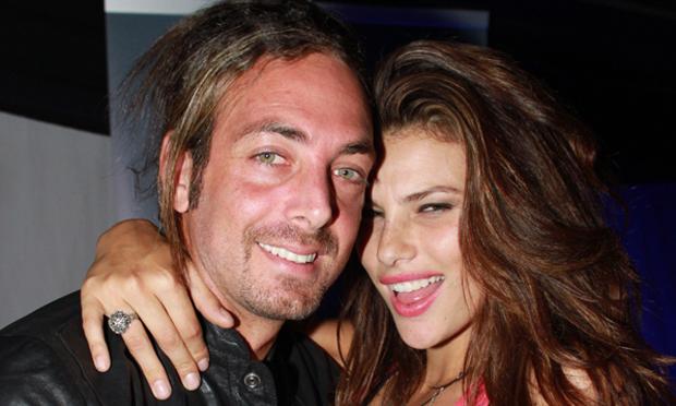Dayane Mello y Nicolas Massu