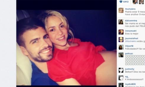 Shakira Embarazo