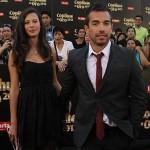 Cristian Menares y Michelle Carvalho
