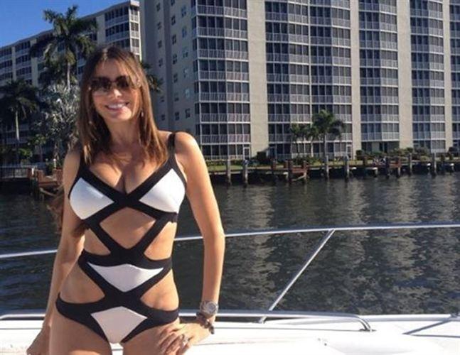 Sofia Vergara en bikini