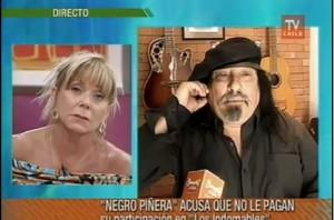 Raquel Argandoña y Miguel Piñera