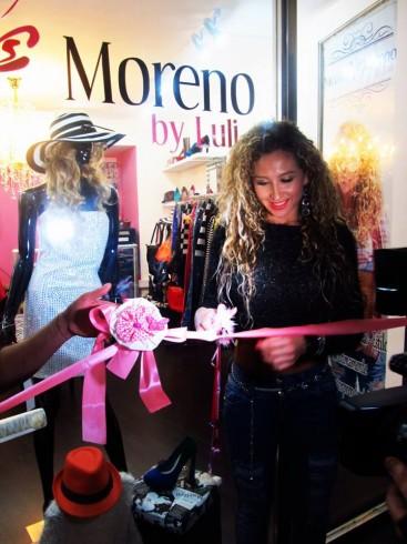 """inauguró su nueva tienda de ropa llamada """"Nicole Moreno by Luli"""