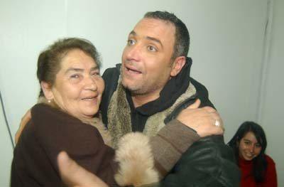 44 La madre de Luis Jara se encuentra grave
