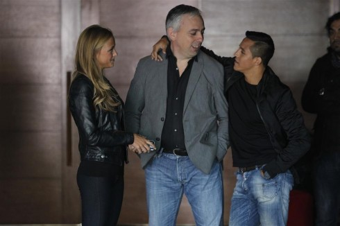 Laia Grassi  y Alexis Sanchez 3