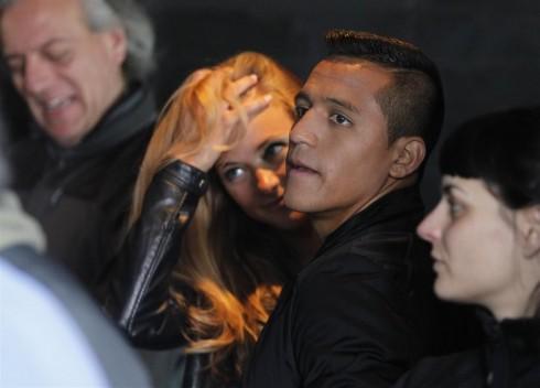 Laia Grassi  y Alexis Sanchez 4