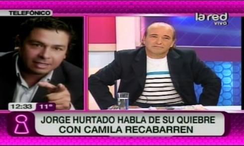 jorge hurtado 490x294 Jorge Hurtado acusó a Camila Recabarren de tener problemas psicológicos