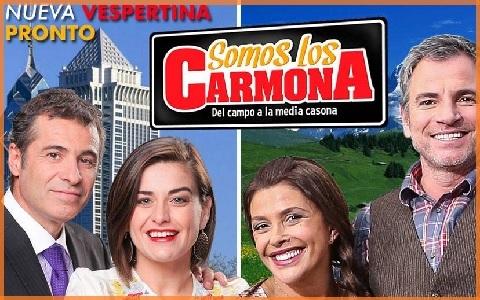 somos Teleserie Somos los Carmona de TVN, arrasó en la sintonía