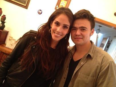 Sandra Echeverría y Mario guerrero