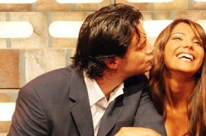 Felipe Camiroaga y Carla Ballero