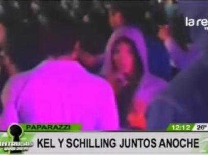 Kel Calderón y Pablo Schilling juntos