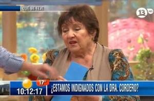 Doctora Cordero Bienvenidos