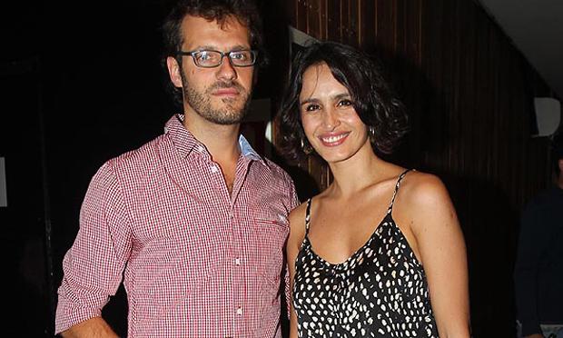 Fernanda Urrejola y su novio