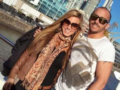 Melina y Andrés Longton