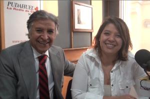 Pablo Aguilera y su hija
