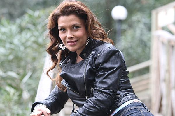 Actriz Carolina Arregui
