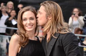 Angelina y Brad Pitt