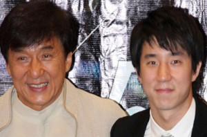 Jackie Chan y su hijo