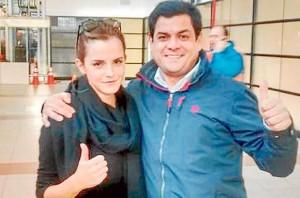 Emma Watson en Chile