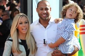Kendra Wilkinson y su familia