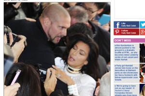Kim Kardashian fue atacada
