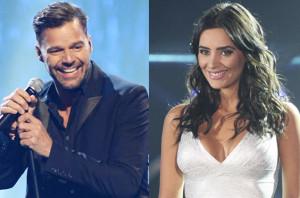 Domi y Ricky Martin