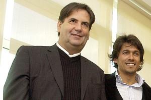Eduardo Domínguez y el rafa