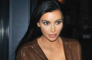 Kim Kardashian Out For Dinner At Craig's